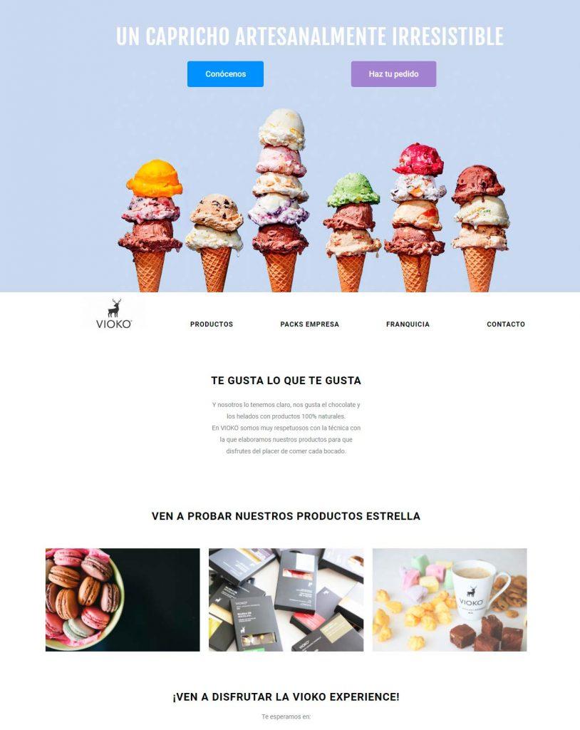 creación de páginas web profesional en barcelona
