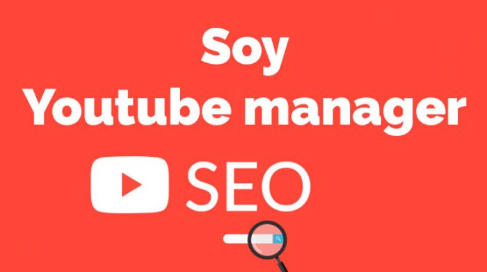 youtube manager: posicionamiento SEO en youtube